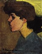 Amedeo Modigliani Head of a Woman in Profile oil painting picture wholesale